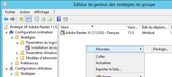 Packaging et déploiement de Adobe Reader, via GPO (ou pas) | Le blog